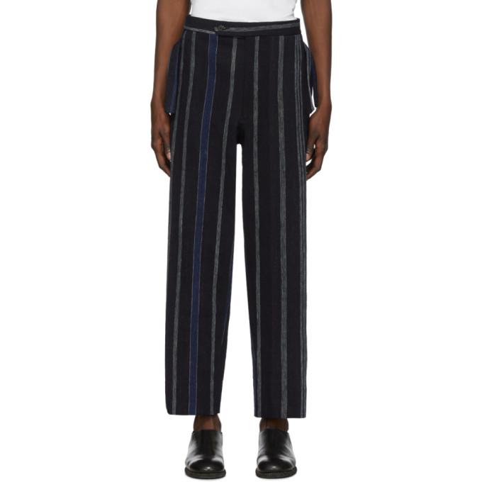 Bode Pantalon raye bleu African