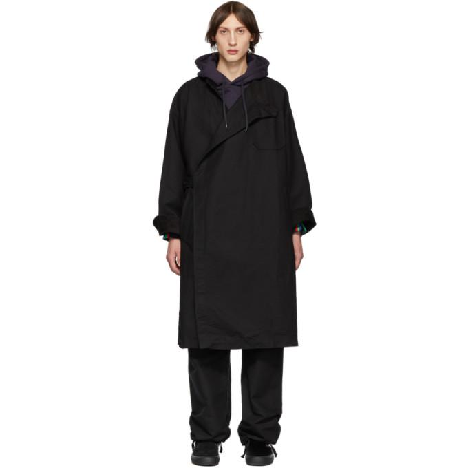 Engineered Garments Manteau noir MG