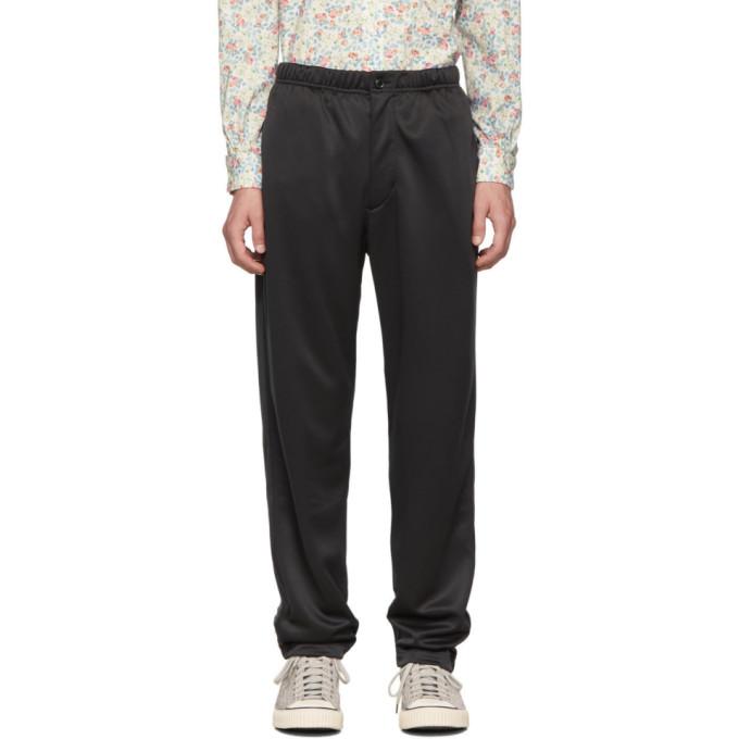 Engineered Garments Pantalon de survetement en molleton noir Jog