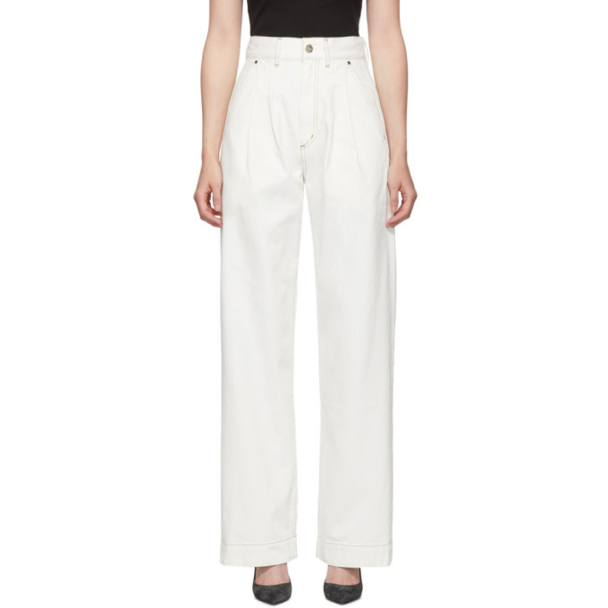 Goldsign Jean blanc The Trouser
