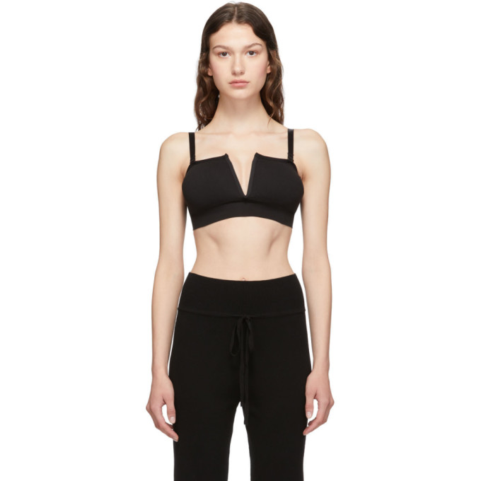Skin Camisole noire Beauty And The Bandeau