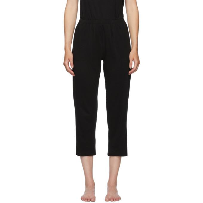 Skin Pantalon de survetement ecourte noir Oaklie