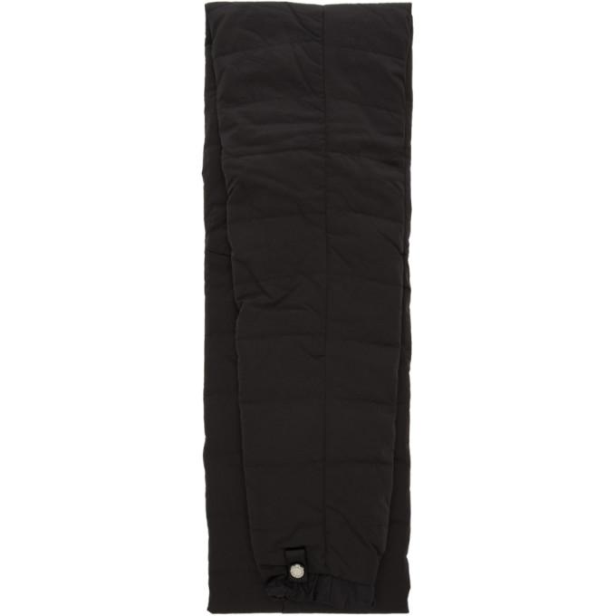 Fumito Ganryu Foulard noir Puff Sleeve Muffler