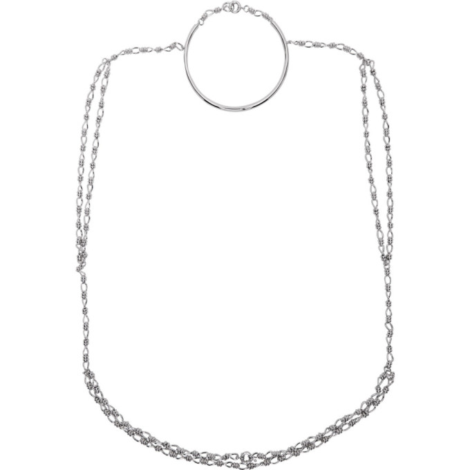 Dheygere Collier argente T-Shirt