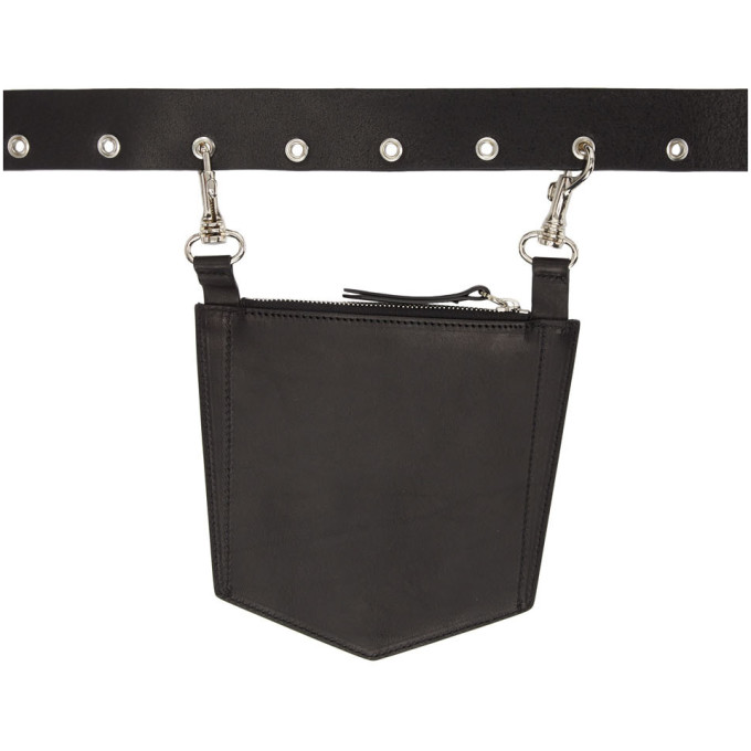 Dheygere Ceinture noire Pocket