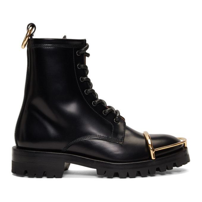 Alexander Wang Black Lyndon Halo Boots