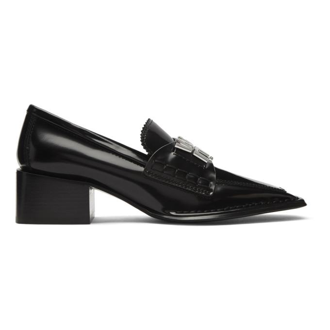 Alexander Wang Black Parker Low Loafers