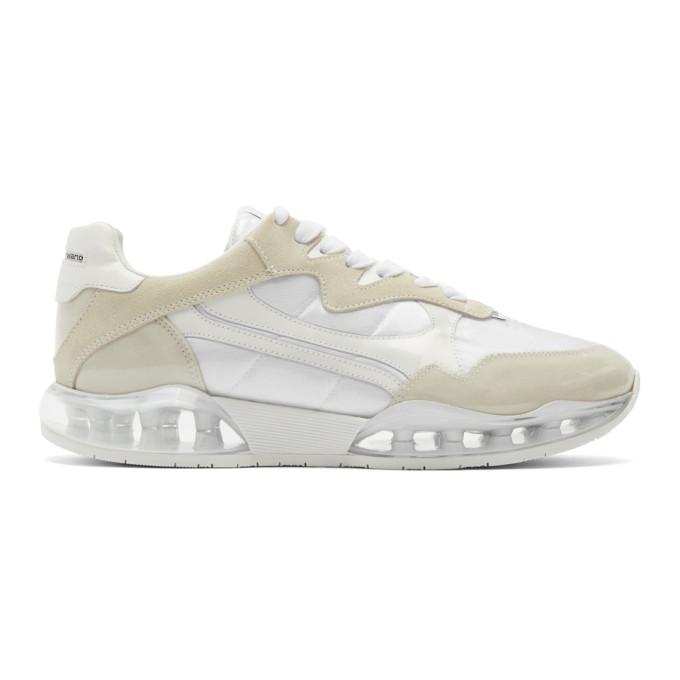 Alexander Wang White Stadium Sneakers