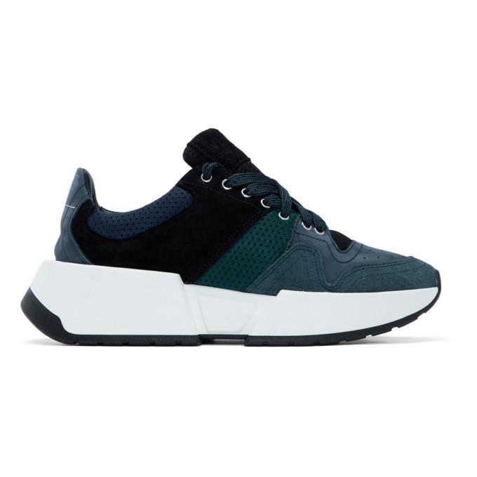 MM6 Maison Margiela Blue Runner Sneakers