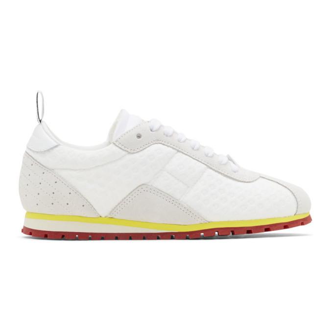 MM6 Maison Margiela White Pull-Tab Sneakers