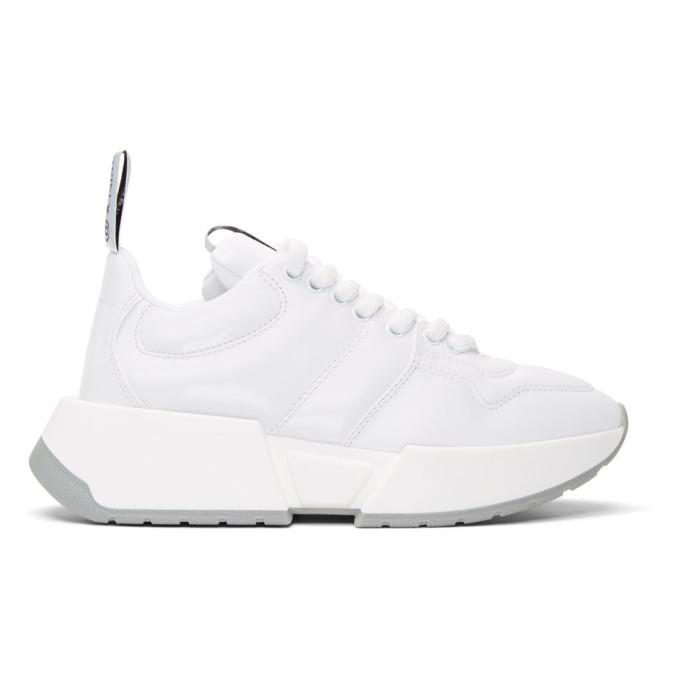 MM6 Maison Margiela White Padded Sneakers