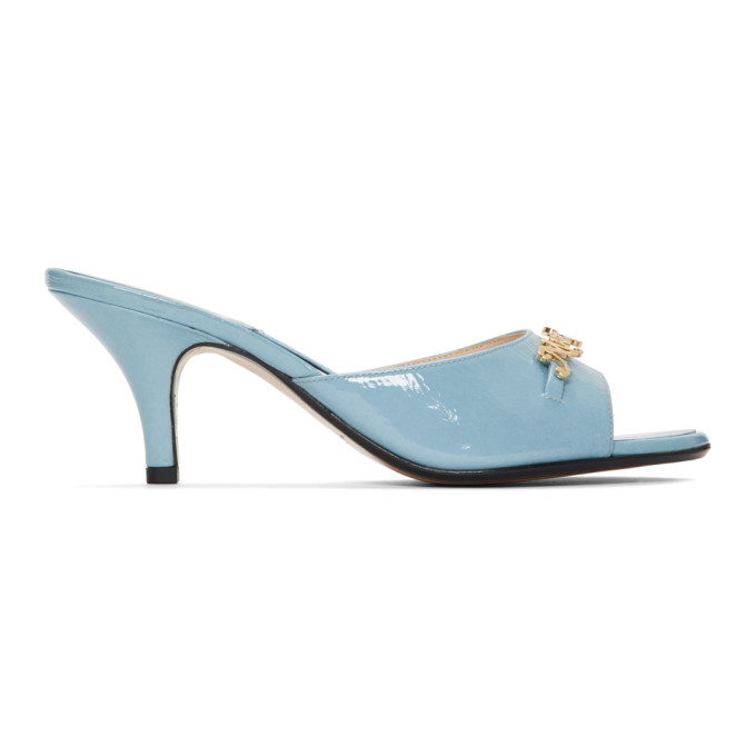 Marc Jacobs Blue New York Magazine Edition The Mule Sandals