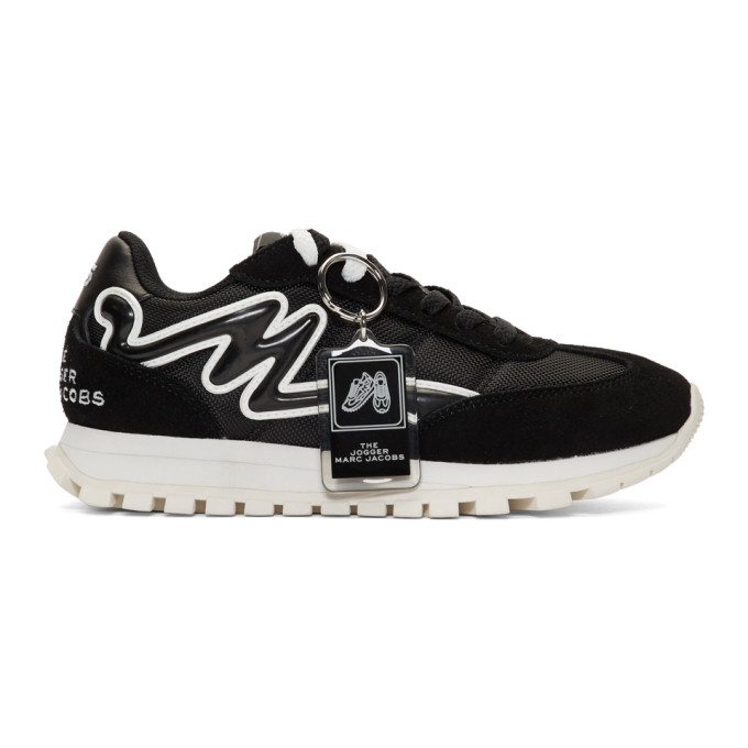 Marc Jacobs Black The Jogger Sneakers