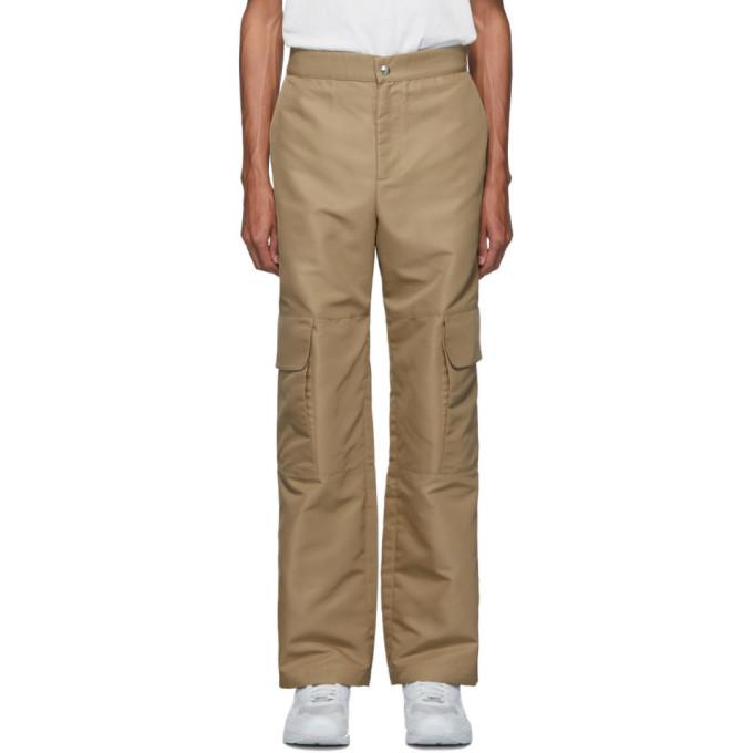 paria /FARZANEH Pantalon beige Pocket Panel
