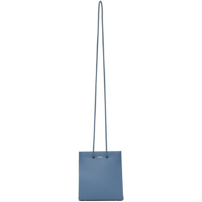 Medea Sac bleu Prima Long Strap Short