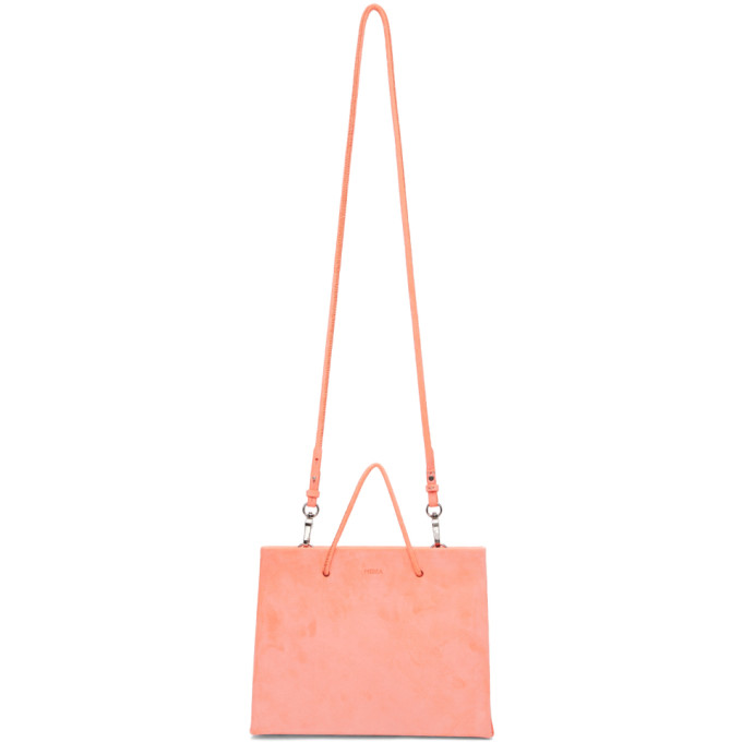 Medea Orange Suede Prima Hanna Bag