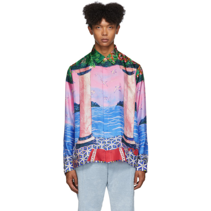 Casablanca Multicolor Moca Sunset Shirt
