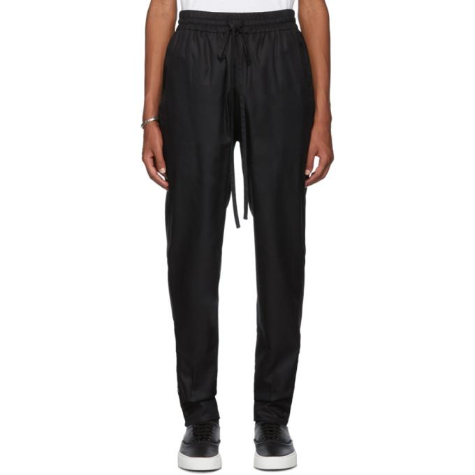 Nahmias SSENSE Exclusive Black Shirt Pants