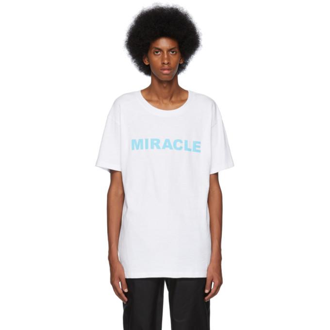 Nahmias T-shirt blanc Miracle