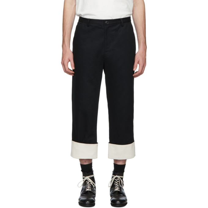 Stay Made SSENSE Exclusive Black Foremans Trousers