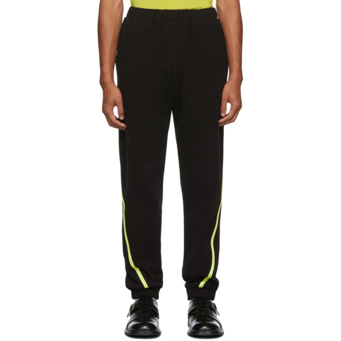 Spencer Badu Pantalon de survetement noir Jogger