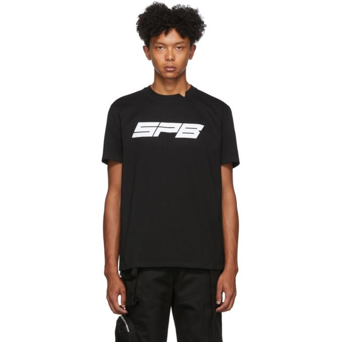 Spencer Badu T-shirt noir SPB