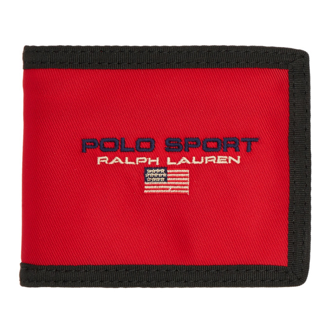 Polo Ralph Lauren Red Polo Sport Wallet