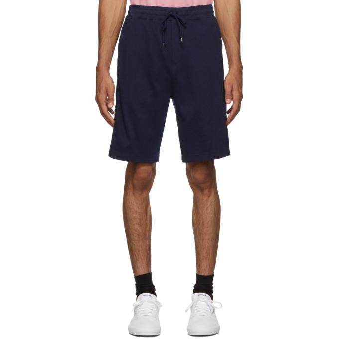 Polo Ralph Lauren Navy Interlock Track Shorts