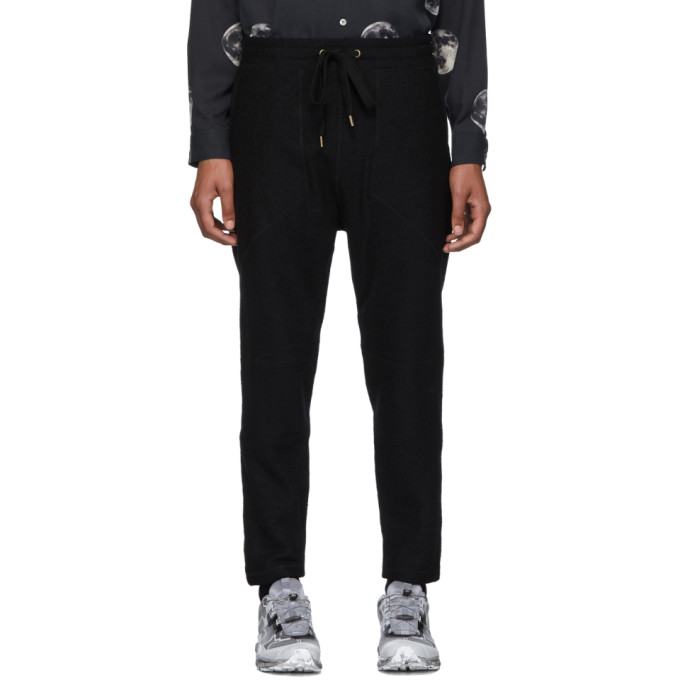Robert Geller Pantalon de survetement noir New Richard
