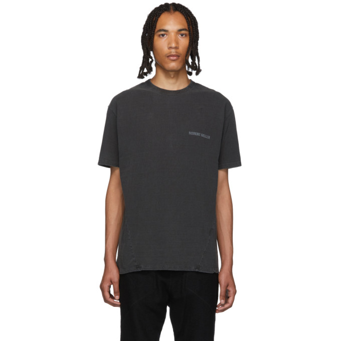 Robert Geller T-shirt noir The RG