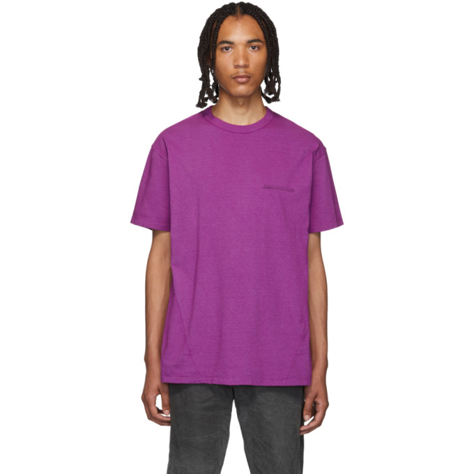 Robert Geller T-shirt mauve The RG