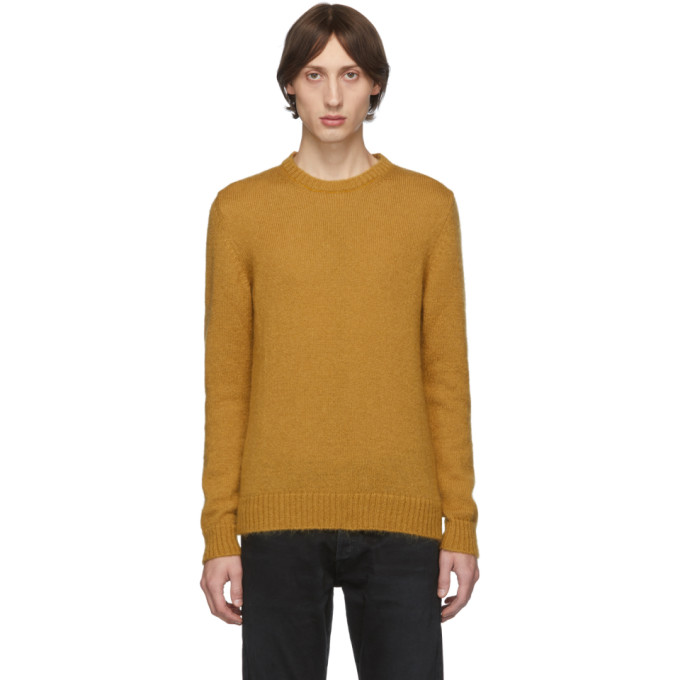 Eidos Pull en mohair orange Lofty