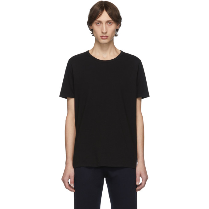 Eidos T-shirt noir Chain Shoulder Detail