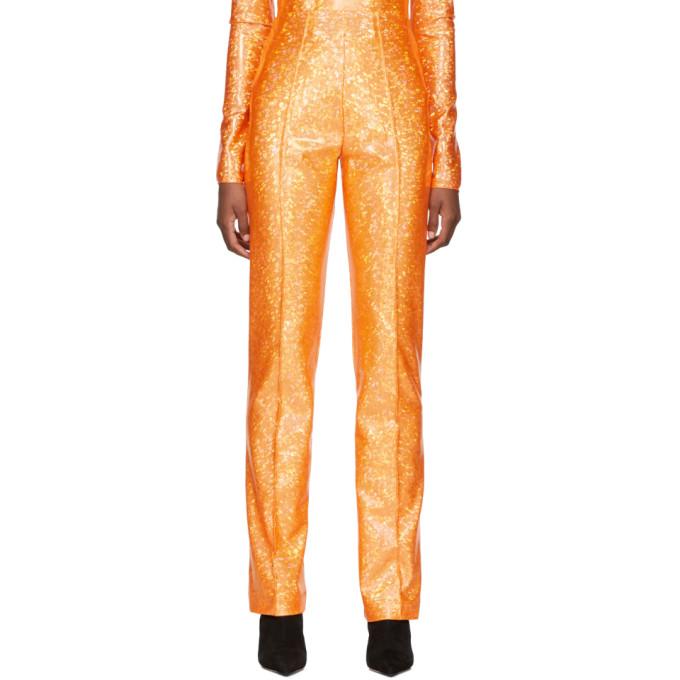 Saks Potts Pantalon scintillant orange Lissi