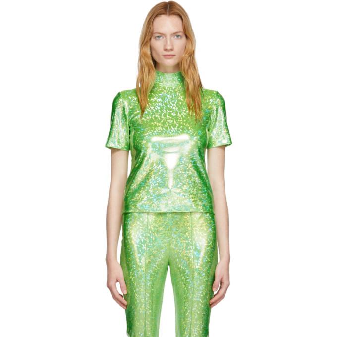 Saks Potts T-shirt vert Ice