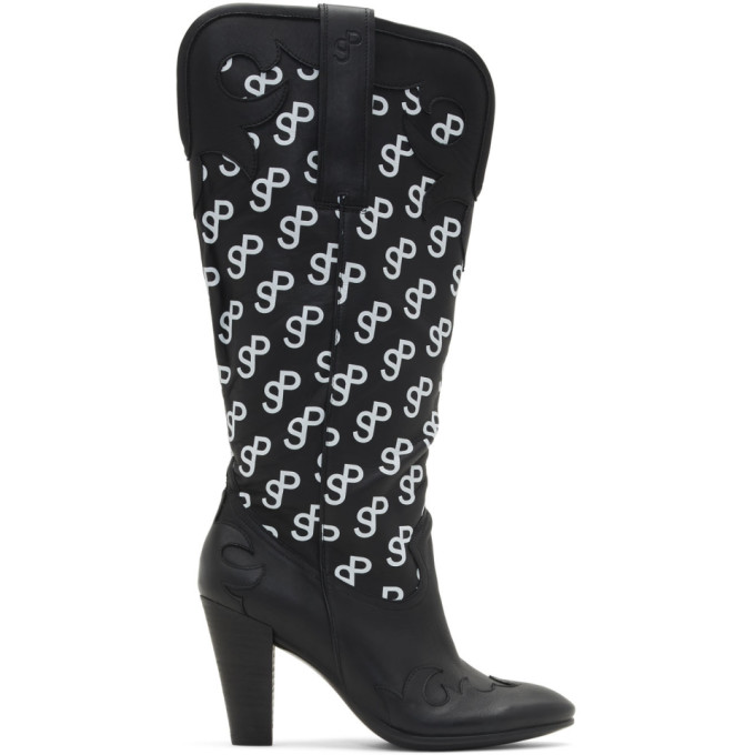 Saks Potts Black Ecco Edition Western 75 Boots