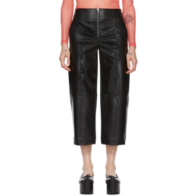 Supriya Lele Pantalon en caoutchouc naturel noir