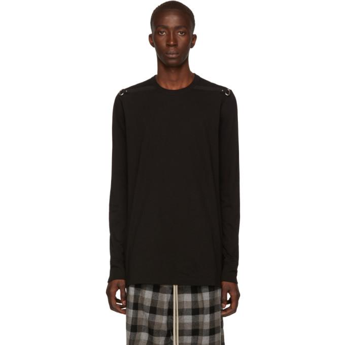 Rick Owens Black Level T Long Sleeve T-Shirt