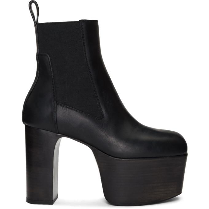 Rick Owens Black KISS Boots