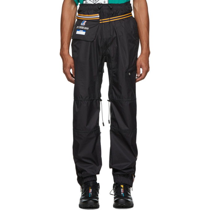 Afterhomework Pantalon de survetement noir Edgard Packable