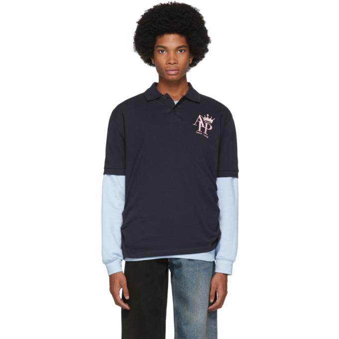 Afterhomework Polo bleu marine Sweater