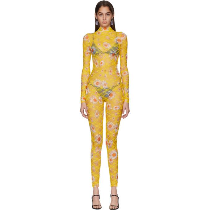 Collina Strada Combinaison jaune Daisy Lace Cardio