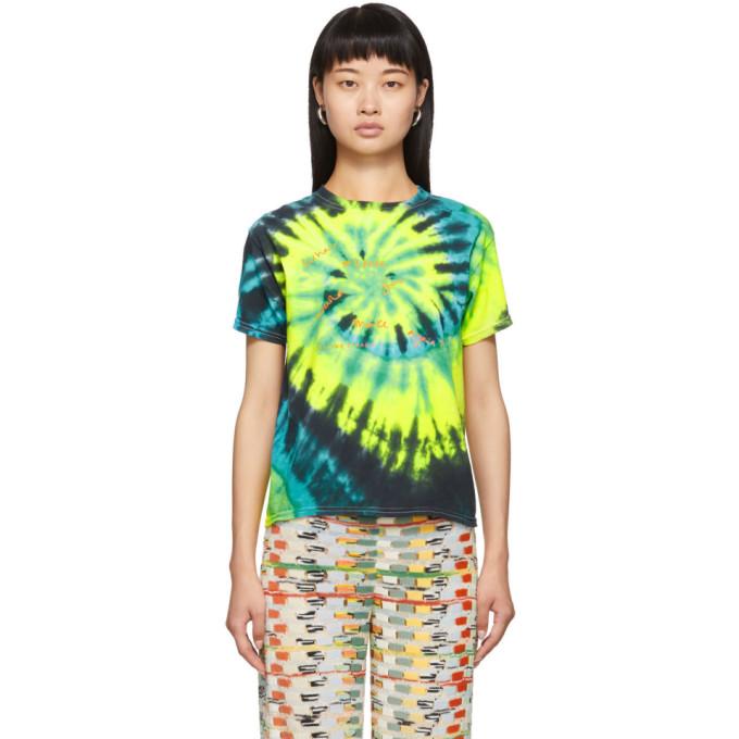Collina Strada T-shirt a motif tie-dye multicolore Mistake