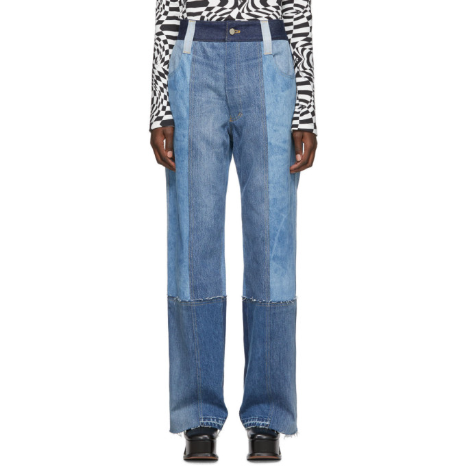Lecavalier Jean bleu Cowboy Recycled