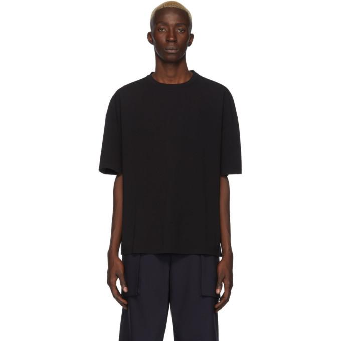 Deveaux New York T-shirt noir Ponti