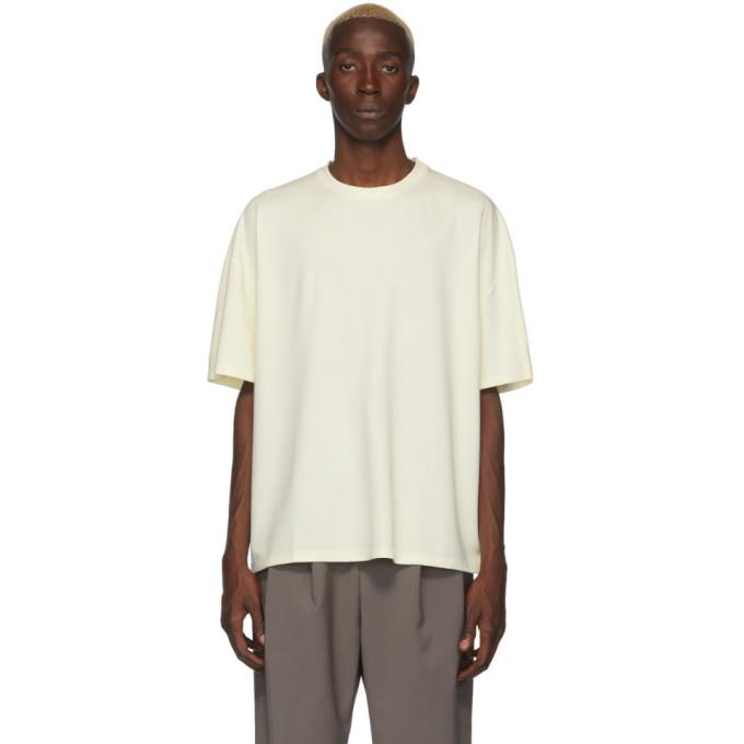 Deveaux New York Off-White Ponti T-Shirt
