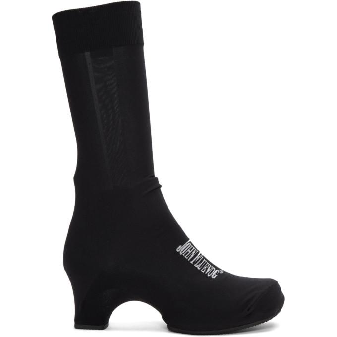 Comme des Garcons Black John Fluevog George Cox Sock Shoes