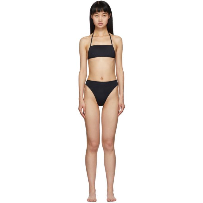 Rudi Gernreich Bikini noir The Original Thong