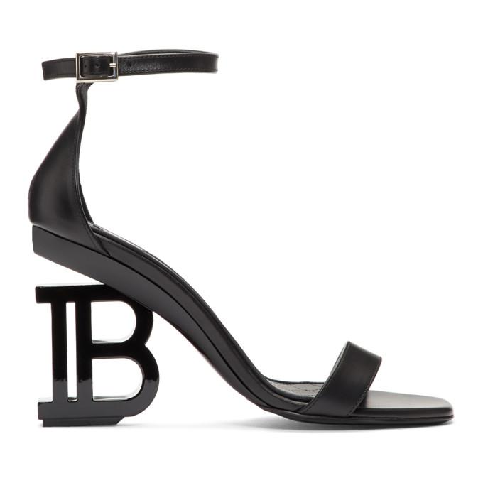 Balmain Black Naomi Sandals
