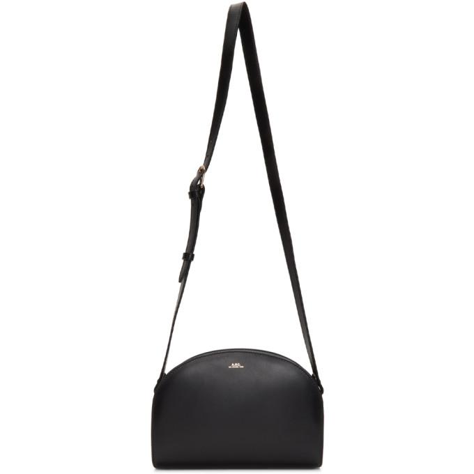 A.P.C. | A.P.C. Black Half-Moon Bag | Goxip